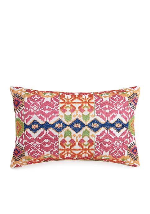 Provincial Motif Decorative Pillow