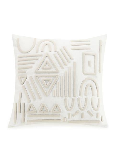 Lemieux Et Cie Jute Decorative Pillow