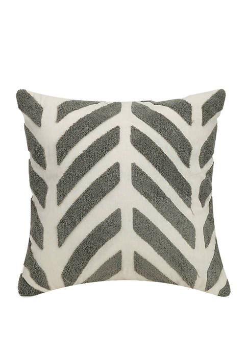 Ayesha Curry Chevron Square Decorative Pillow