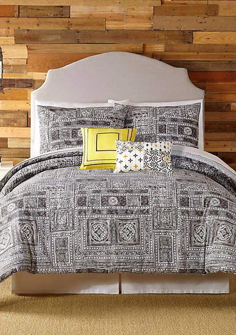Indigo Bazaar Tranquility Queen Comforter 5-Piece Set