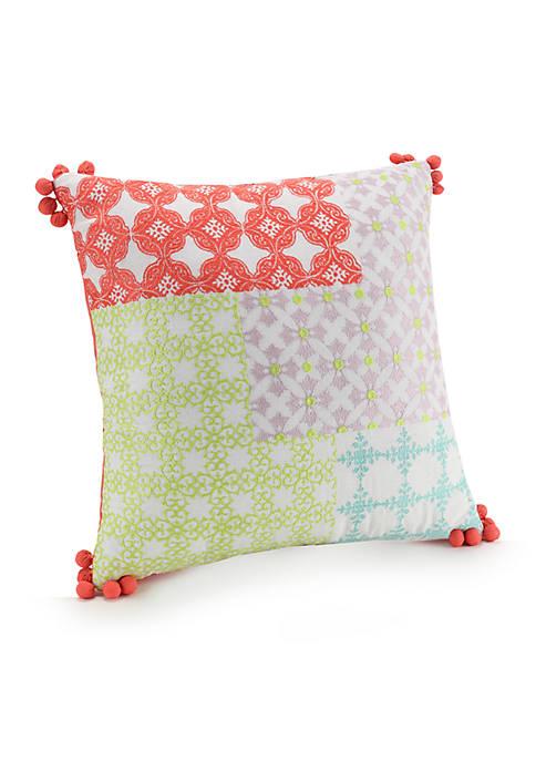 Asana Poms Decorative Pillow