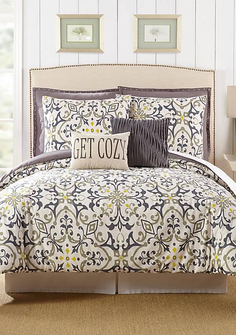 Madrid Queen Comforter 7-Piece Set