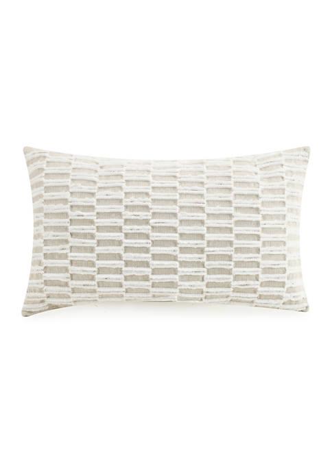 Lemieux Et Cie Tufted Embroidered Pillow