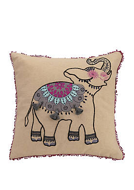 Dream Tapestry Dream Elephant Decorative Pillow