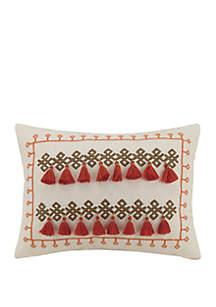 Caicos Tassel Decorative Pillow