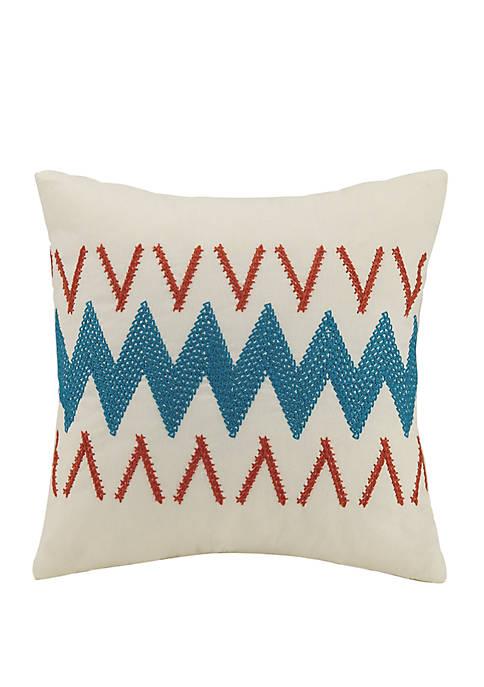 Caicos Chevron Decorative Pillow