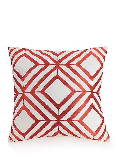 Valdivia Diamond Decorative Pillow