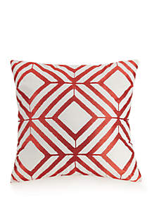 Jessica Simpson Valdivia Diamond Decorative Pillow