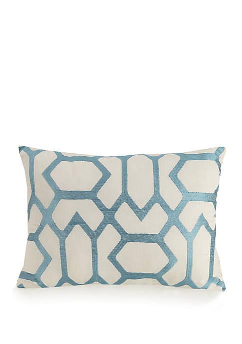 Jessica Simpson Bellisima Geo Lattice Decorative Pillow