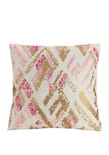 Jessica Simpson Bellisima Blush & Gold Decorative Pillow
