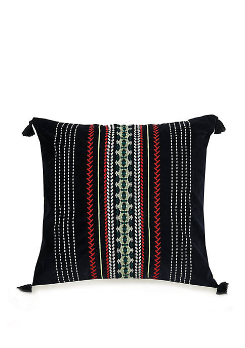 Romantic Paisley Romantic Velvet Decorative Pillow