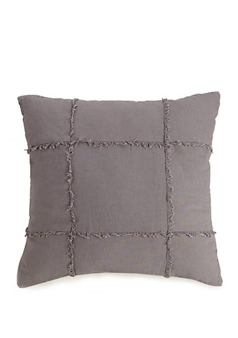 Fringe Square Decorative Pillow