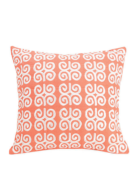 Cuban Tiles Decorative Pillow