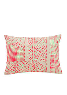 Cuban Tiles Decorative Pillow