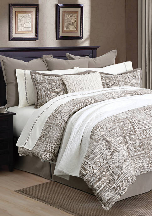 HiEnd Accents 3 Piece Trent Comforter Set