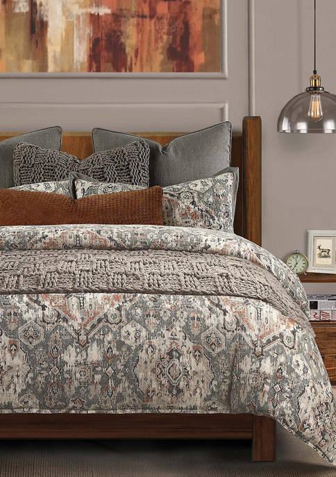 HiEnd Accents 3 Piece Carmen Comforter Set