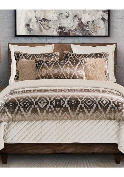 HiEnd Accents Chalet Aztec Comforter Set