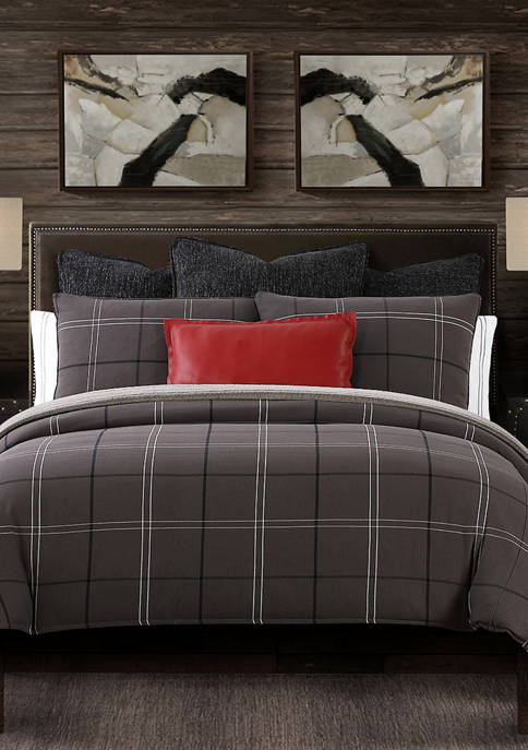 HiEnd Accents 3 Piece Heath Comforter Set