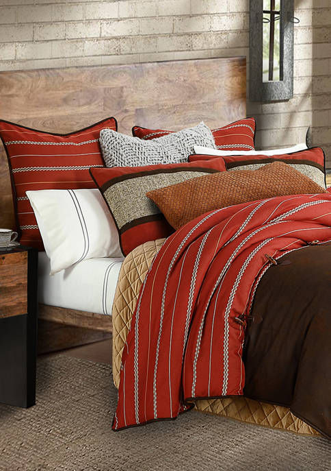 HiEnd Accents 3 Piece Carter Comforter Set