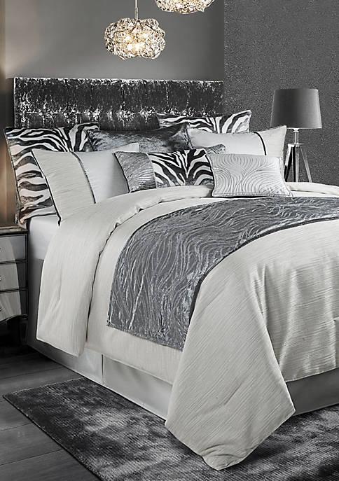 HiEnd Accents 4 Piece Celeste Comforter Set