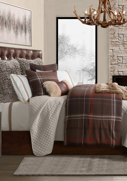 HiEnd Accents Jackson Comforter Set
