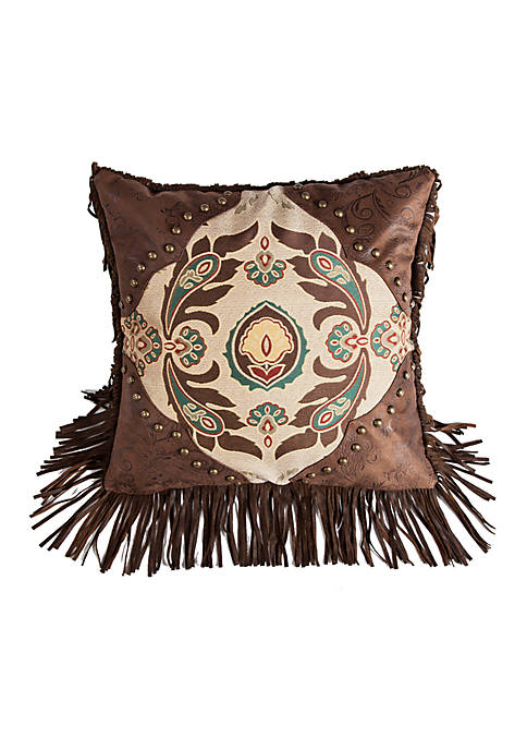 HiEnd Accents Loretta Western Decorative Pillow