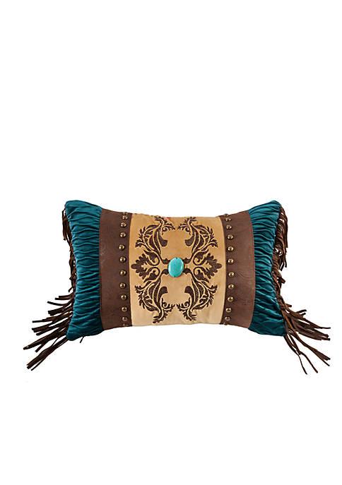 Loretta Faux Leather Decorative Pillow