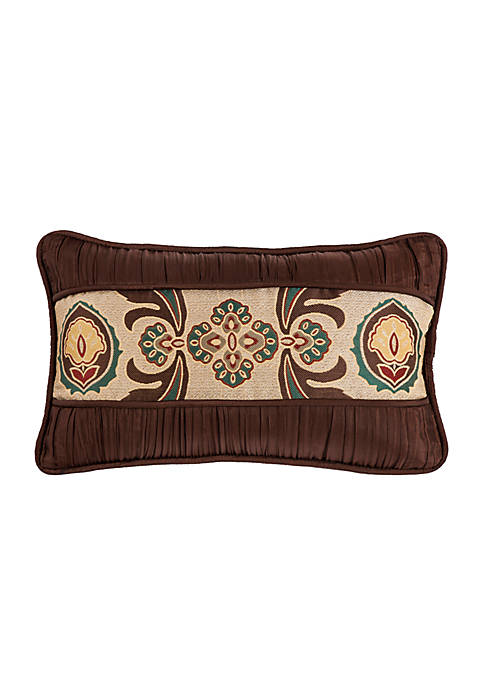 HiEnd Accents Loretta Batiste Decorative Pillow