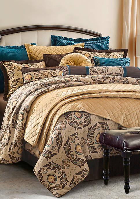 HiEnd Accents Loretta Comforter Set
