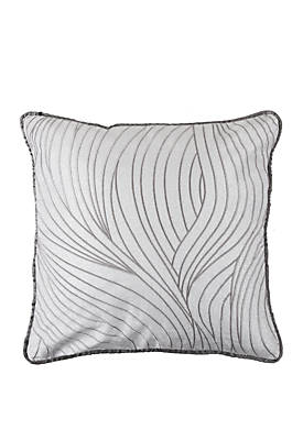 Celeste Wave Embroidery Pillow