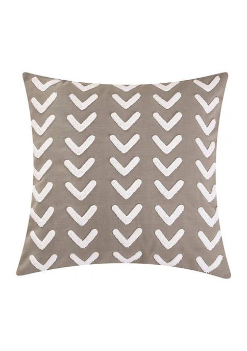 HiEnd Accents Appliqué Arrow Design Pillow