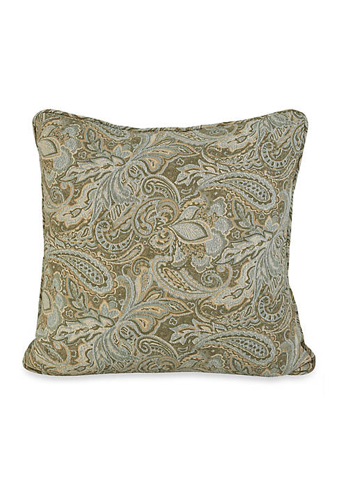 HiEnd Accents Arlington Paisley European Sham 27-in. x