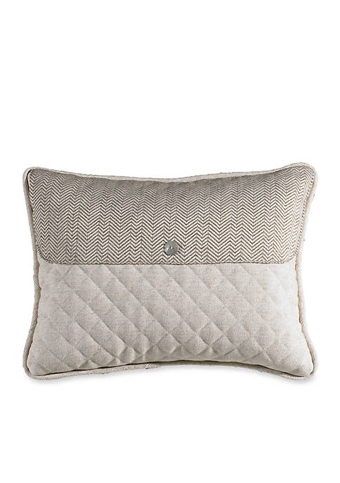 HiEnd Accents Fairfield Envelope Decorative Rectangle Pillow
