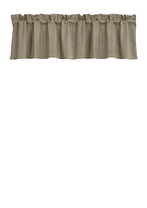 HiEnd Accents Fairfield Valance 84-in. x 18-in.
