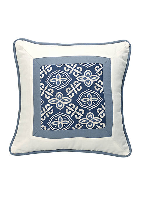 HiEnd Accents Monterrey Framed Pillow