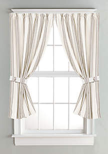 Striped Curtain Blue