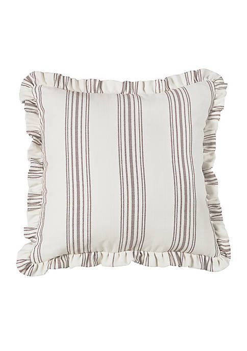 HiEnd Accents Striped Euro Sham