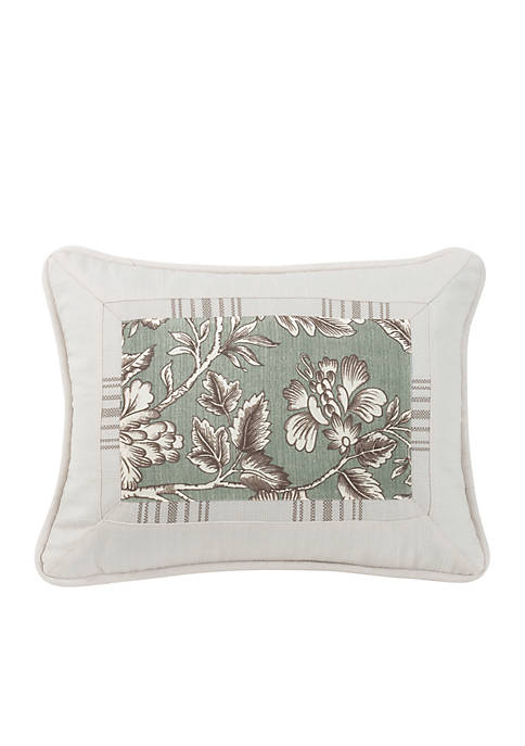 HiEnd Accents Printed Oblong Pillow