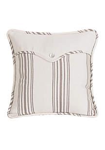 Prescott Stripe Square Pillow