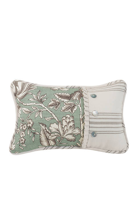 HiEnd Accents Printed Floral Decorative Pillow