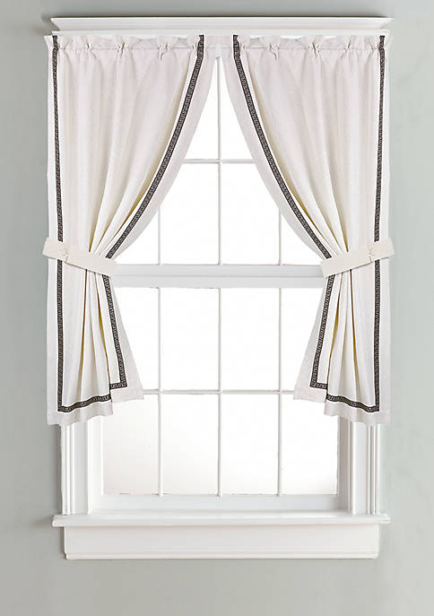 HiEnd Accents Matelasse Curtain