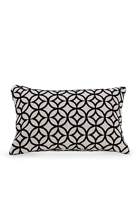 HiEnd Accents Cutted Velvet Decorative Pillow