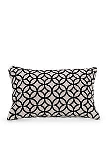 HiEnd Accents Cutted Velvet Decorative Pillow