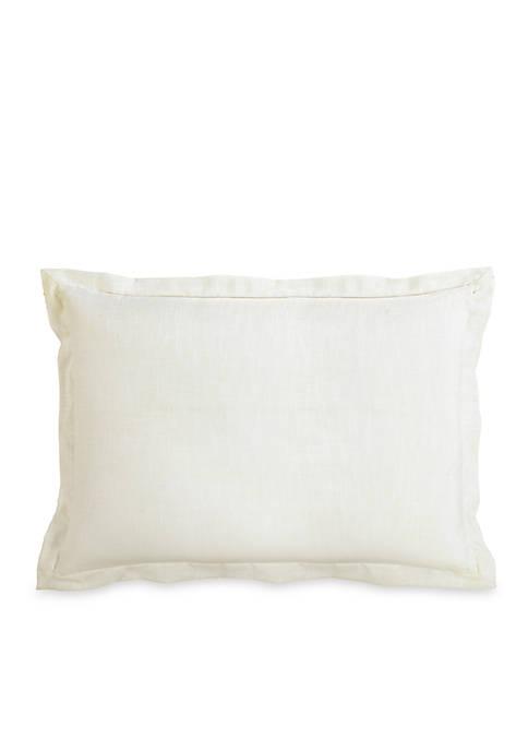 HiEnd Accents Charlotte Linen Pillow Sham