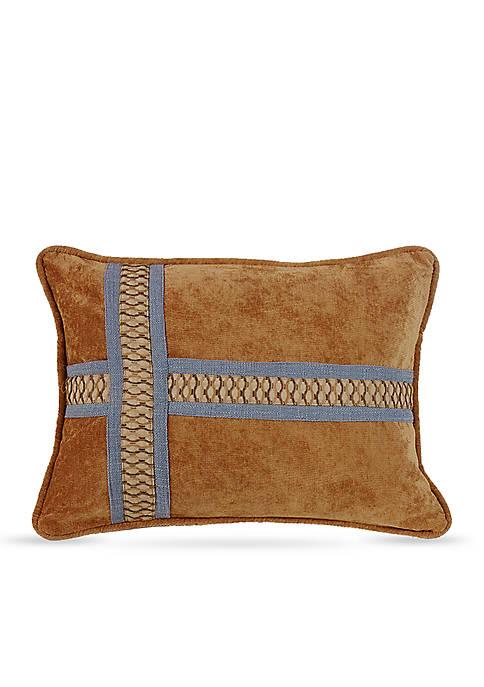 Lexington Cross Design Decorative Pillow
