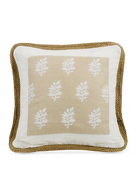 Newport Framed Decorative Pillow with Trim