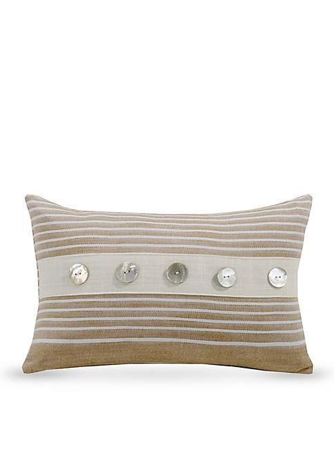 Newport Small Striped Decorative Pillow