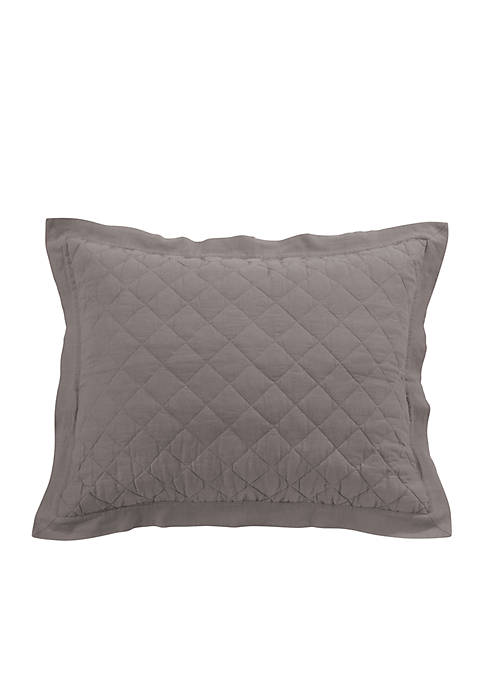 Diamond Quilted King Sham