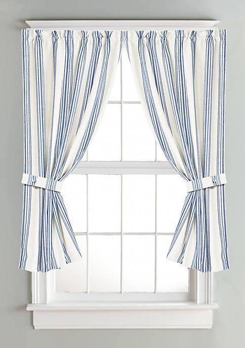 HiEnd Accents Striped Curtain Multi