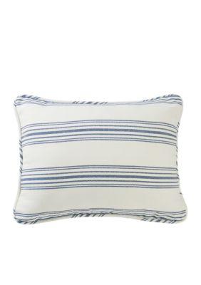 Hiend Accents Prescott Stripe King Pillow Shams